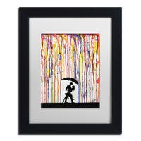Marc Allante 'Tempest' Matted Framed Art
