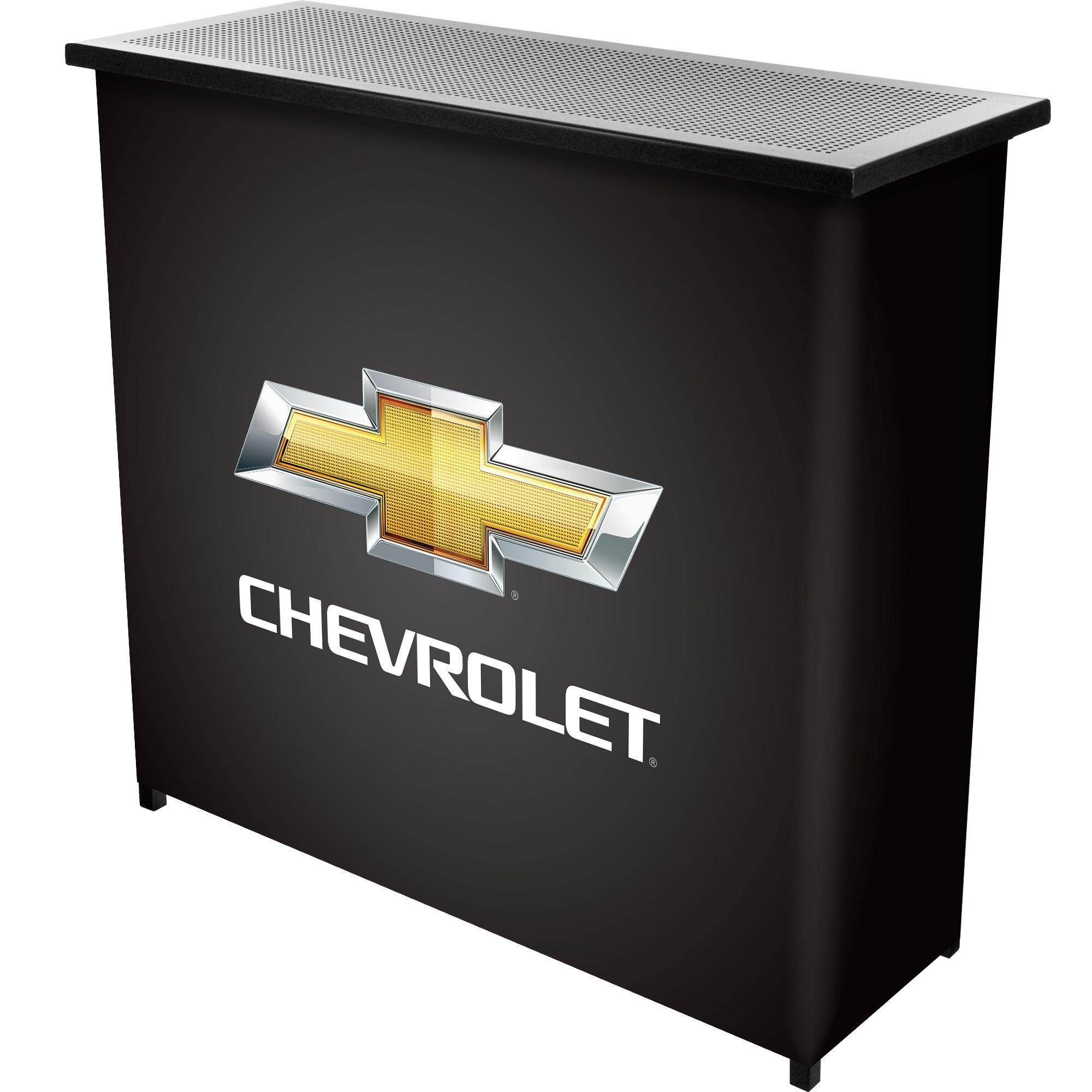 Chevrolet Portable Bar with Case (39L x 15W x 36H), Grey ...