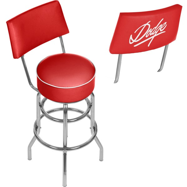 Dodge Bar Stool with Back - Signature