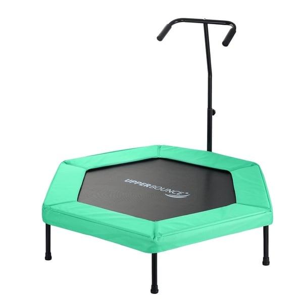 upper bounce green 50 inch hexagonal adjustable hand rail. Black Bedroom Furniture Sets. Home Design Ideas