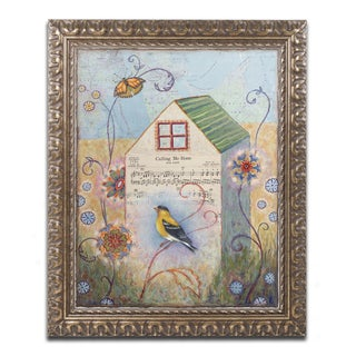 Rachel Paxton 'Home' Ornate Framed Art
