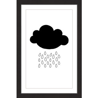 Marmont Hill - 'Black Cloud' by Diana Alcala Framed Painting Print
