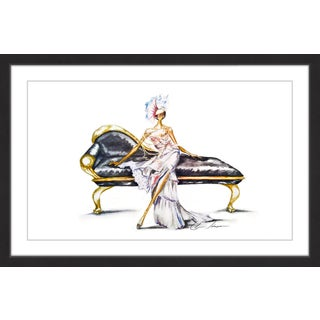 Marmont Hill - 'Opulence' by Claire Thompson Framed Painting Print