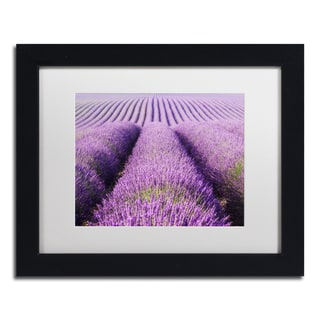 Michael Blanchette Photography 'Purple Hills' Matted Framed Art