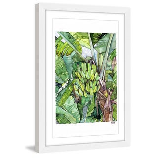 Marmont Hill - 'Banana Tree' by Rachel Byler Framed Painting Print