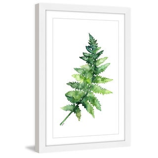 Marmont Hill - 'Fern 1' by Rachel Byler Framed Painting Print