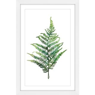 Marmont Hill - 'Fern 2' by Rachel Byler Framed Painting Print