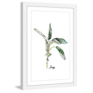 Marmont Hill - 'Herb Sage' by Rachel Byler Framed Painting Print