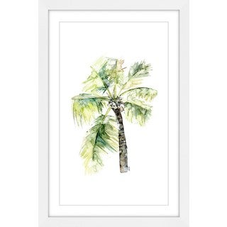 Marmont Hill - 'Palm Tree 2' by Rachel Byler Framed Painting Print