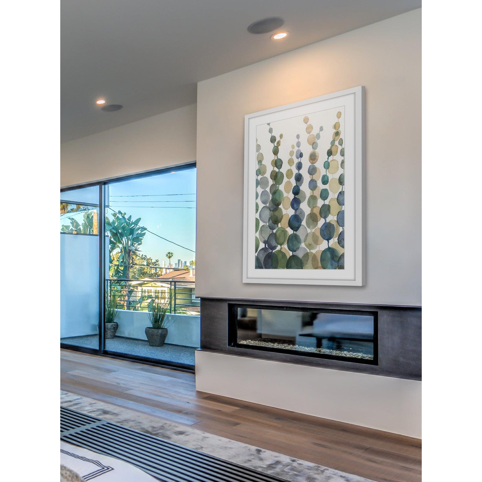Marmont Hill - 'Pompom Botanical I' Framed Painting Print