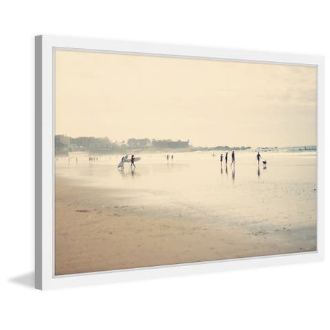 Marmont Hill - Handmade Beach Life Framed Print