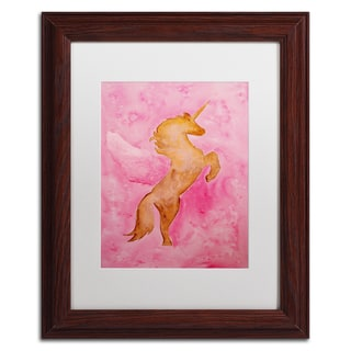 Nicole Dietz 'The Unicorn' Matted Framed Art