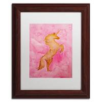 Nicole Dietz 'The Unicorn' Matted Framed Art
