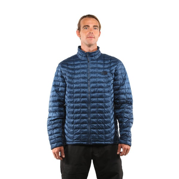 The North Face Men S Shady Blue Thermoball Full Zip Jacket