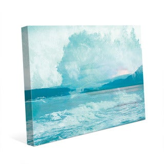 Turquoise Rush' Canvas Wall Art