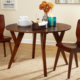 Simple Living Castile Mid-Century Dining Table