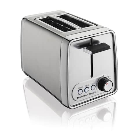 Hamilton Beach Recertified Modern Chrome 2-slice Toaster