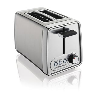 Hamilton Beach R22781 Modern Chrome 2 Slice Toaster (Refurbished)