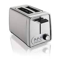 Hamilton Beach Recertified Modern Chrome 2-slice Toaster