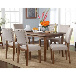 Simple Living Provence Dining Set  sc 1 st  Overstock : overstock dining table set - pezcame.com