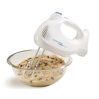 Receritified Hamilton Beach 6-speed Hand Mixer with Snap-on Case