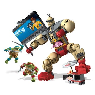 Mega Bloks Teenange Mutant Ninja Turtles Collectors Krang's Rampage Construction Set
