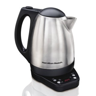Recertified Hamilton Beach Programmable 1.7-liter Kettle