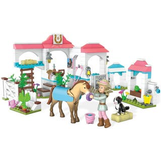 Mega Bloks American Girl Nicki's Horse Stables Construction Set|https://ak1.ostkcdn.com/images/products/12983346/P19730410.jpg?impolicy=medium