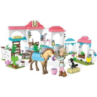 Mega Bloks American Girl Nicki's Horse Stables Construction Set