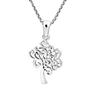 Strength in the Wind Tree of Life Sterling Silver Necklace (Thailand)