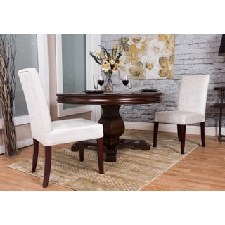Somette Ivory Chenille Dining Chair (Set of 2)