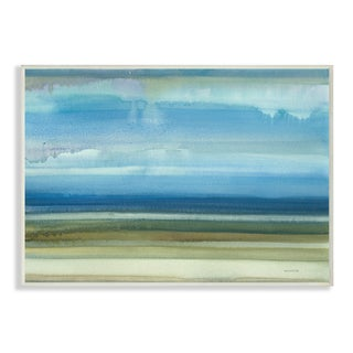 Stupell 'Tidal Flats' Multicolor Painting Wall Plaque Art