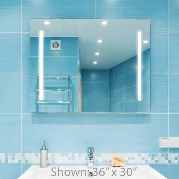 backlit bathroom vanity mirror dyconn faucet catella wall mounted vanity bathroom led 15466