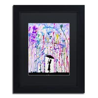 Marc Allante 'Deluge' Matted Framed Art
