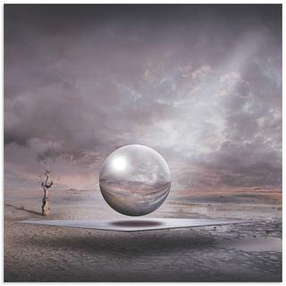 Franziskus Pfleghart 'Genesis' Surrealism Art on Metal or Acrylic