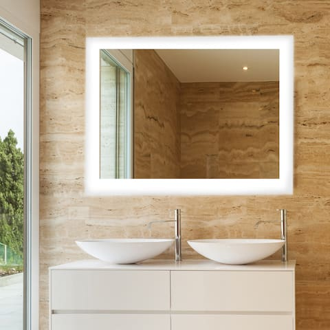 buy frameless mirrors online at overstock com our best decorative