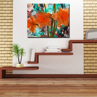 Ready2HangArt 'Painted Petals XXII' Canvas Art