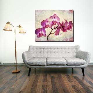 Ready2HangArt 'Painted Petals XVIII' Canvas Art