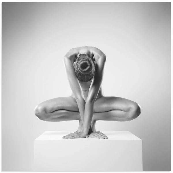 Arkadiusz Branicki 'Cross' Human Form Photography on Metal or Acrylic