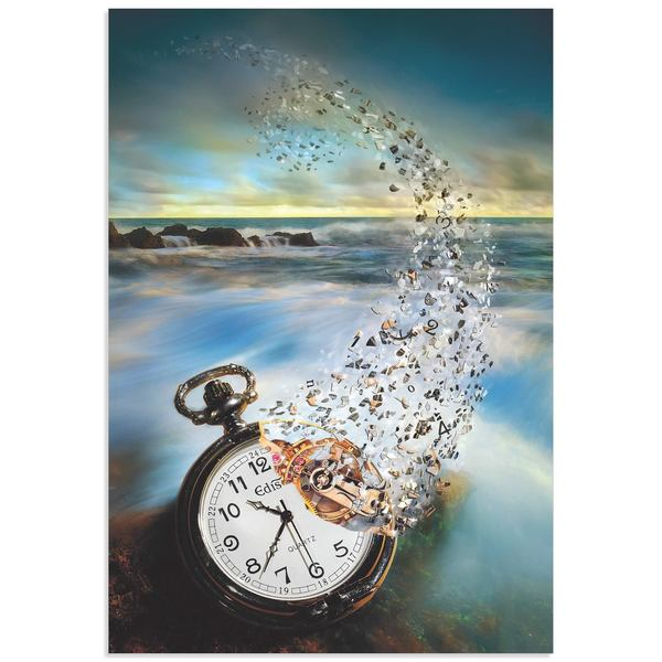 Sandy Wijaya 'The Vanishing Time' Steam Punk Art on Metal or Acrylic