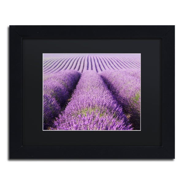 Michael Blanchette Photography 'Purple Hills' Matted Framed Art