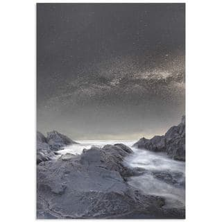 Stoyan Hristov 'Where is the Moon' Mountain Picture Art on Metal or Acrylic