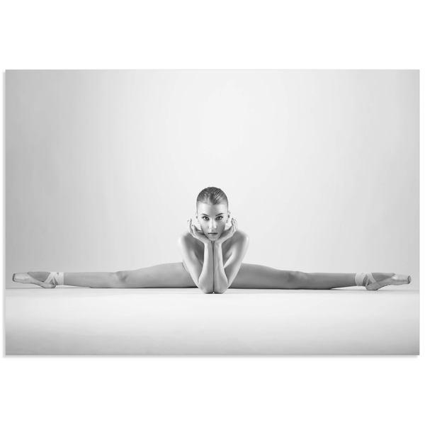 Arkadiusz Branicki 'Ballerina Splits' Classy Nude Photography on Metal or Acrylic