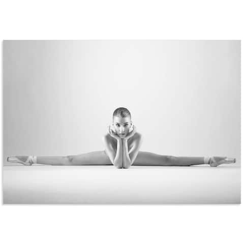 Arkadiusz Branicki 'Ballerina Splits' Classy Nude Photography on Metal or Acrylic