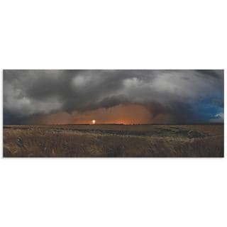 Franz Schumacher 'Plains of Fury' Storm Pictures on Metal or Acrylic