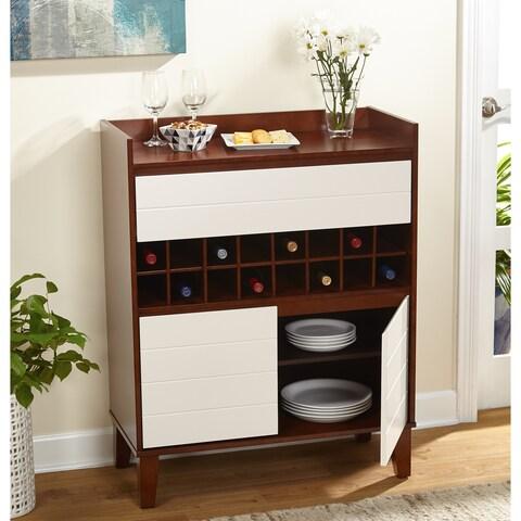 Simple Living Daisy Bar Cabinet/Buffet - N/A