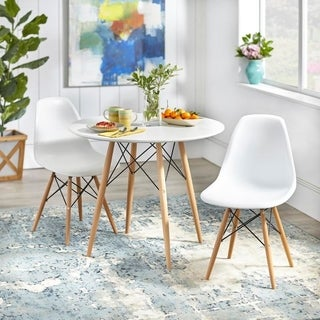 Simple Living Mid-Century Elba Dining Set (2 options available)
