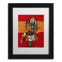 Craig Snodgrass 'Segmented Man III' Matted Framed Art