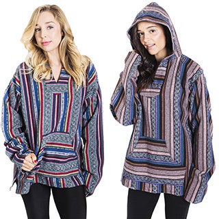 Warm Hand-woven Women's Cotton Hoodie (Nepal)