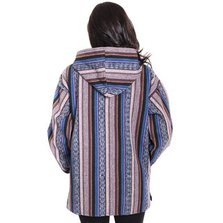 Warm Hand-woven Women's Cotton Hoodie (Nepal)